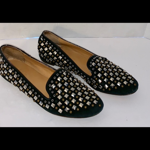 J. Crew Shoes - J. Crew women's loafers Size 7. Embellished studs